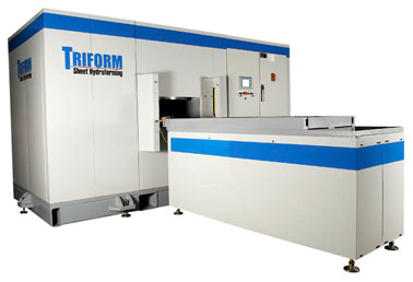 Triform Fluid Cell Sheet Hydroforming Press