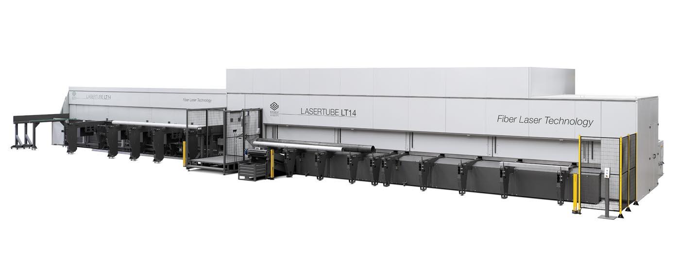 BLM Laser Tube Model LT14 Fiber