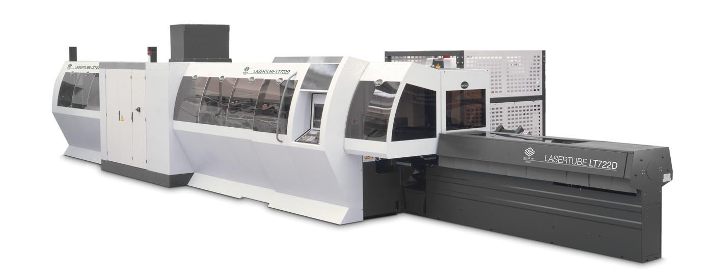 BLM Laser Tube Model LT722D/LT FIBER