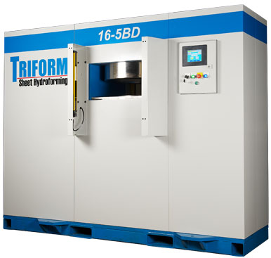 Triform Hydroform Press: Models 16-5BD  & 24-5BD