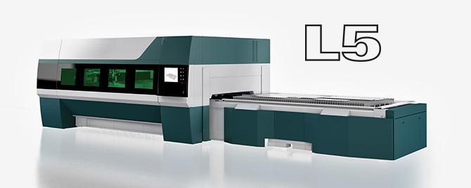 L5 Fiber Laser Cutter